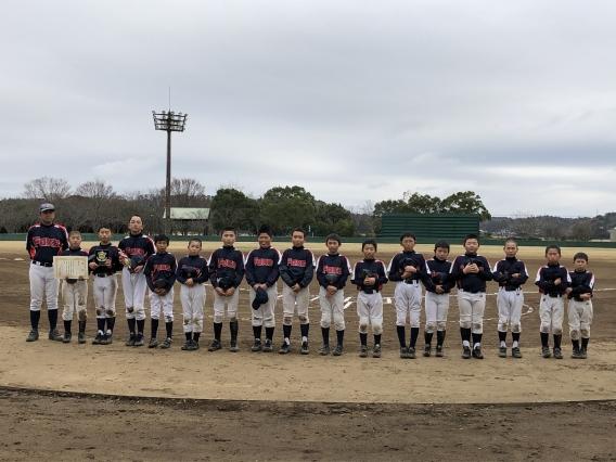 栄町酉市少年野球大会 第3位